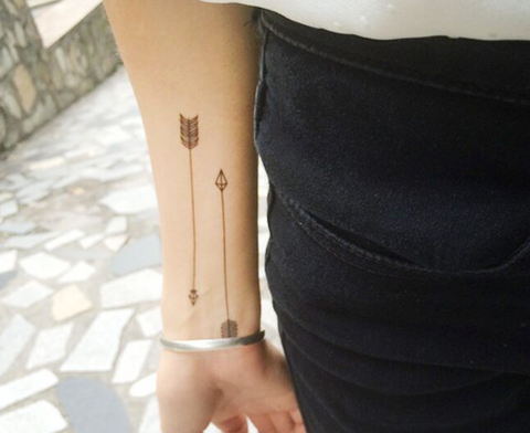 Arrow Arm Tattoos - MyBodiArt