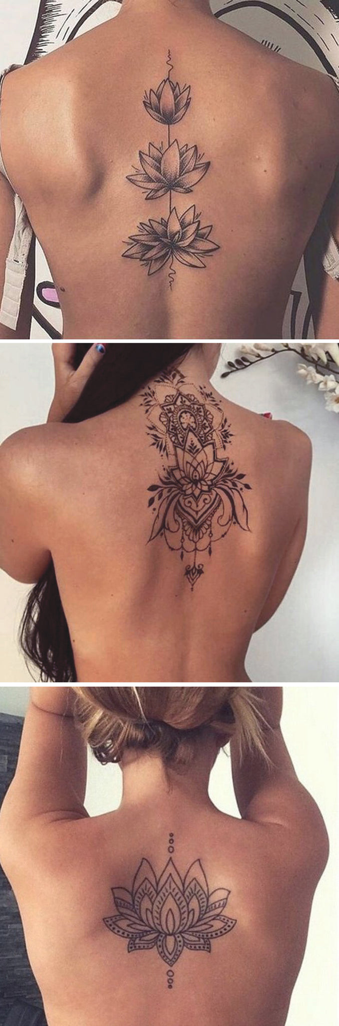 50 Inspirational Spine Tattoo Ideas For Women With Meaning