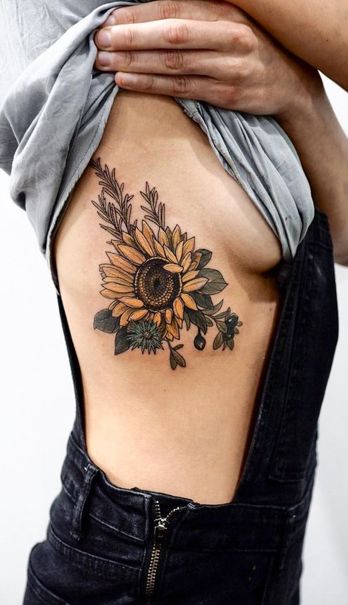 20 Of The Most Boujee Sunflower Tattoo Ideas Mybodiart