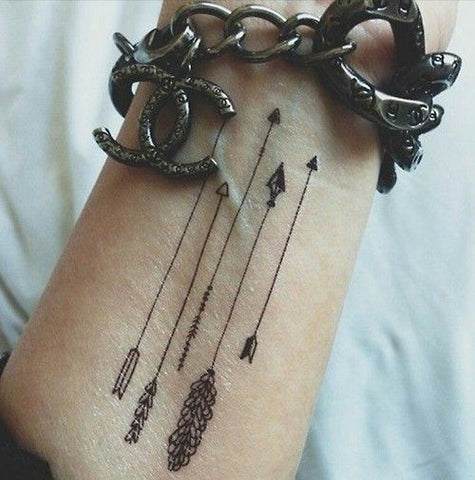 Arrow Wrist Tattoos