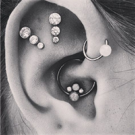 Helix Piercing Ideas at MyBodiArt