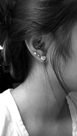 Cute Ear Piercing Jewelry at MyBodiArt