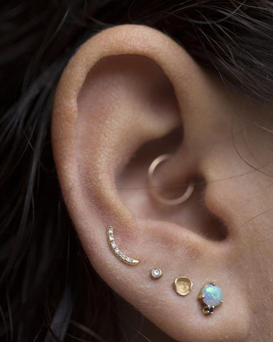Daith Piercing Jewelry at MyBodiArt
