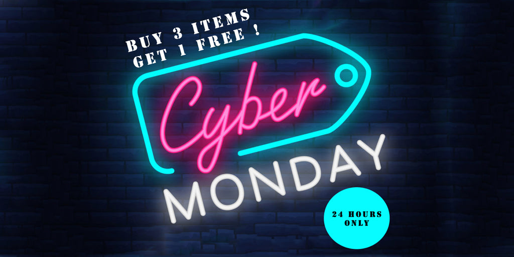 Cyber Monday 2018 at www.MyBodiArt.com