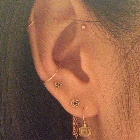 Simple and Cute Ear Piercings to Try this Summer @ MyBodiArt