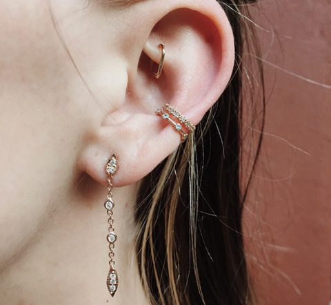 Orbital Piercing Jewelry Ideas & Rook Piercing Jewelry at MyBodiArt