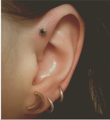 Cute Forward Piercing Ideas at MyBodiArt