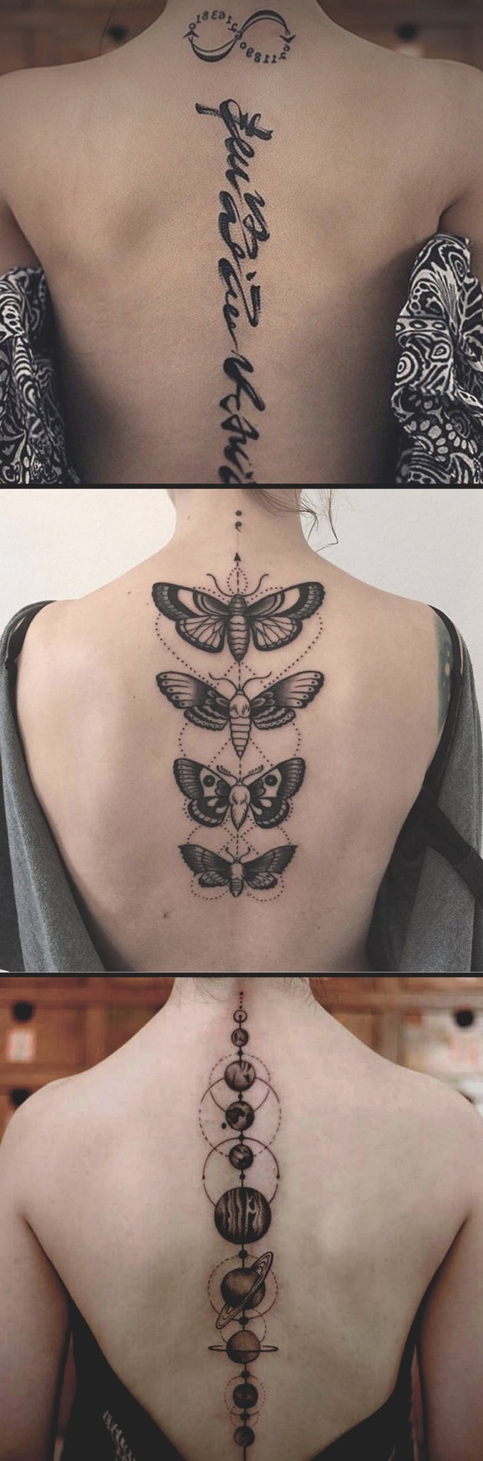 50+ Inspirational Spine Tattoo Ideas for Women with Meaning – MyBodiArt