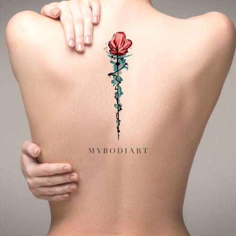 30 Delicate Flower Tattoo Ideas \u2013 MyBodiArt
