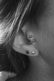 Unique Different Spiral Tragus Ear Piercing Ideas 16G Jewelry - www.MyBodiArt.com #piercings