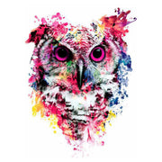 Cool Popular Watercolor Owl Temporary Tattoo Ideas for Women - www.MyBodiArt.com