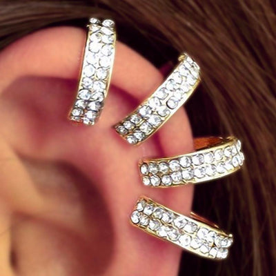 Ear Cuff - Cartilage Hoop - Helix Ring - Unique Ear Piercing Ideas at MyBodiArt.com