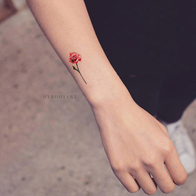 Watercolor Temporary Tattoos – MyBodiArt