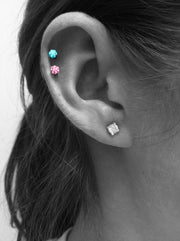 Ferido Crystal Cartilage Piercing Jewelry at MyBodiArt