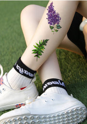 Small Leaf Leg Tattoo Ideas for Women - www.MyBodiArt.com #tattoos