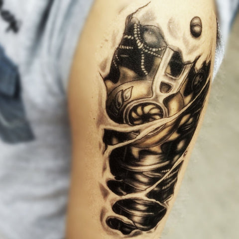 Terminator Arm Tattoo