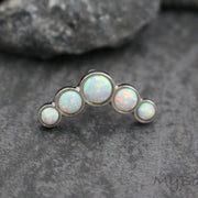 5 Opal Cartilage Piercing Jewelry at MyBodiArt