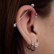 Industrial Barbell Bar at MyBodiArt 14G