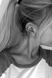 Cute Multiple Ear Piercings at MyBodiArt