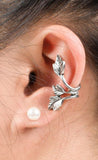 Leaf Ear Cuff Earring - Simple Ear Piercing Ideas at MyBodiArt.com
