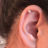 Cute Ear Piercing Ideas - Swarovski Star Helix Earring at MyBodiArt.com