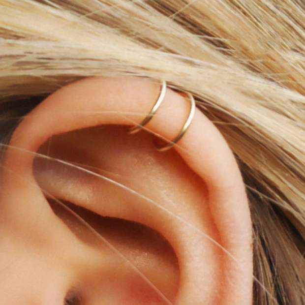 Penelope Wired Ear Cuff & Climber Triple Piece Set