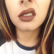 Aztec Gold Septum Piercing Jewelry at MyBodiArt