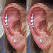 Cute Opal Cartilage Helix Ear Piercing Jewelry Ideas for Women -  ideas de piercing de oreja - www.MyBodiArt.com
