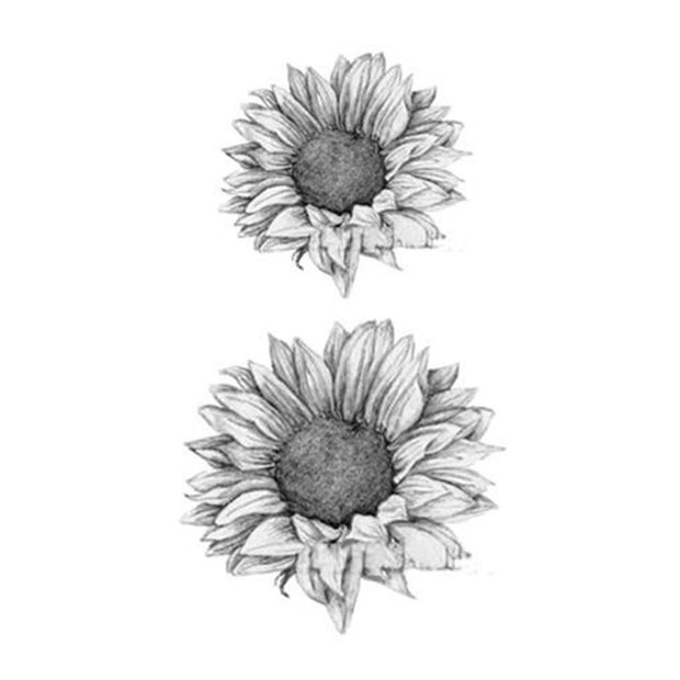 Katelyn Sunflower Temporary Tattoo