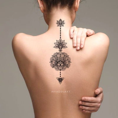 Tribal Temporary Tattoos – MyBodiArt