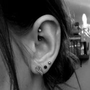 Black Rook Piercing Jewelry at MyBodiArt