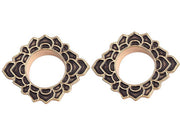 Cheroka Tribal Brass Ear Gauges at MyBodiArt.com
