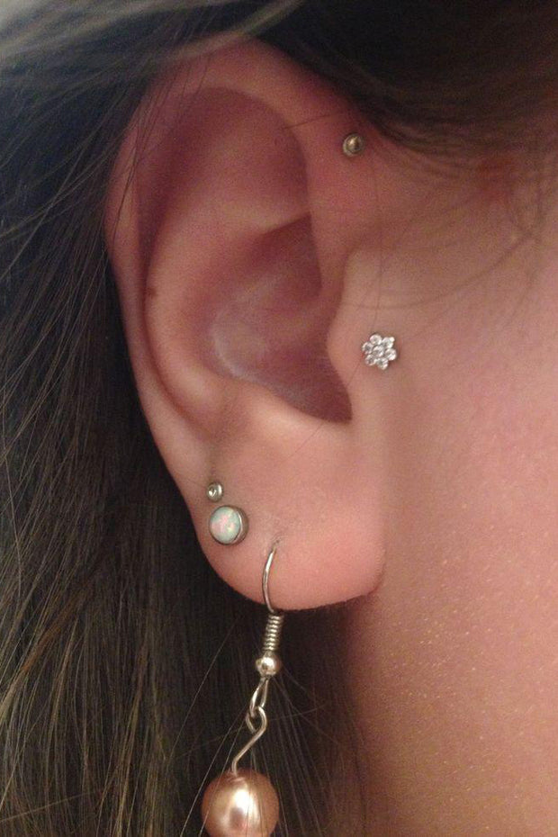Cute Multiple Ear Piercing Jewelry Ideas for Women - www.MyBodiArt.com