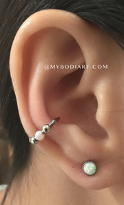 Super Cute Ear Piercing Ideas for Teenagers - Simple Piercings de Oreja - www.MyBodiArt.com