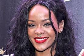 rihanna septum fake