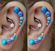 Opal Helix Earring at MyBodiArt