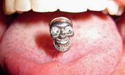 Cinco De Mayo Skull Tongue Ring at MyBodiArt.com