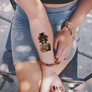 Budhha Potrait Temporary Tattoos at MyBodiArt