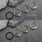 Cute Ear Piercing Jewelry Ideas Septum Ring for Women -  ideas de piercing de oreja - www.MyBodiArt.com