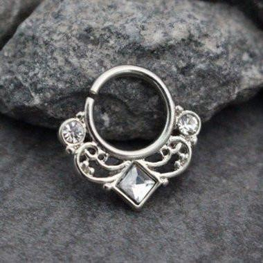 Septum Ring Piercing Jewelry at MyBodiArt.com