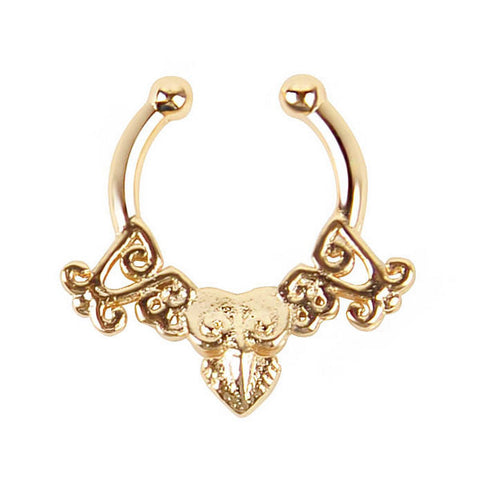 Golden Septum Jewelry