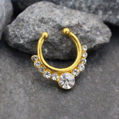 Belite Crystal Septum Jewelry
