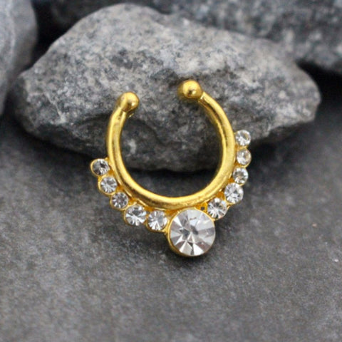 Crystal Septum Jewelry