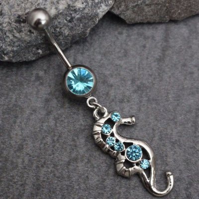 Seahorse Belly Button Rings
