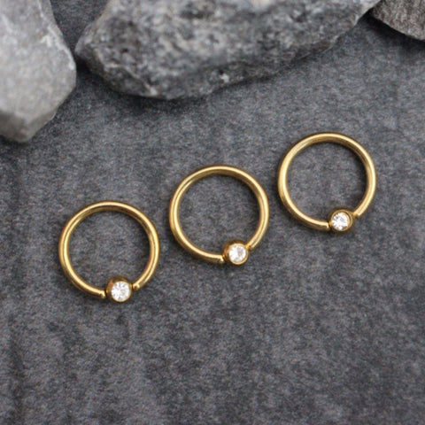 Helix Earring, Helix Piercing, Rook Piercing, Rook Earring, Captive Bead Ring, Lip Ring, Eyebrow Jewelry, Rook Hoop, 16g Earrings, Conch