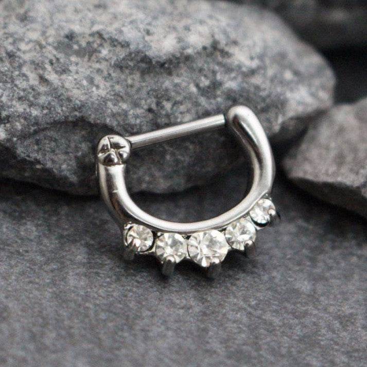 Clear Septum Ring G