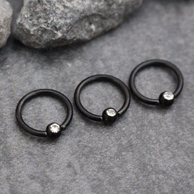 Blackline Cartilage Ring, Helix Hoop, Tragus Ring, Eyebrow Ring, Lip Piercing, Septum Hoop, Cartilage Earring, Helix Earring, Septum Ring