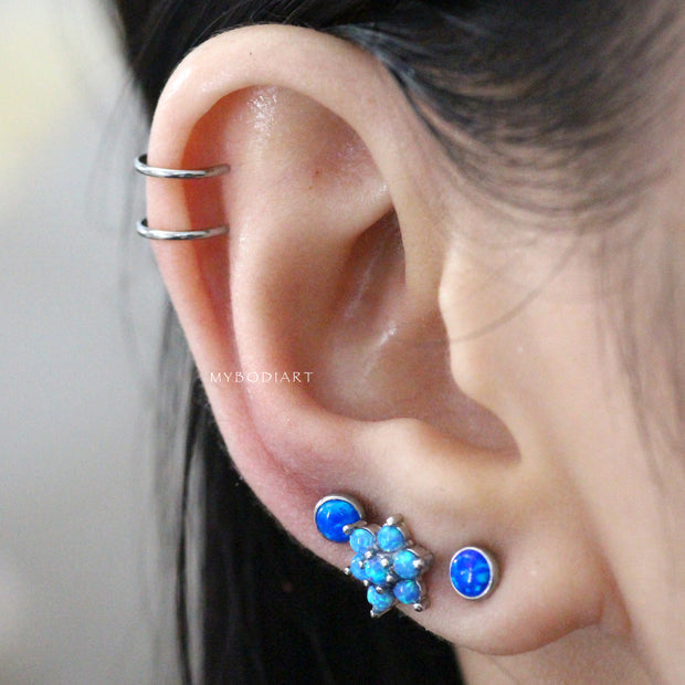 Cute Simple Ear Piercing Ideas for Women - Dainty Double Cartilage Fake Top Ear Cuff Earring - Delicadas orejas Piercing Ideas para mujeres  -  www.MyBodiArt.com #earrings