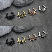 Anchor Fake Septum Piercing Ring Jewelry for Women - www.MyBodiArt.com