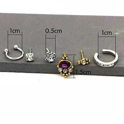 Casvana 6 Piece Earring Set at MyBodiArt.com